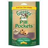 Greenies Pill Pockets Duck and Pea Formula Capsules (6.6-Oz.)