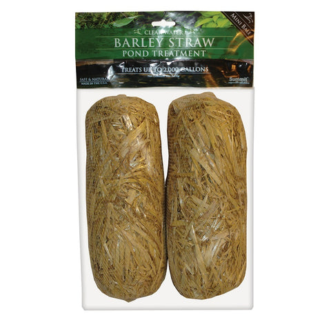 Summit 130 Clear-water Barley Straw Bales (2-Pack)