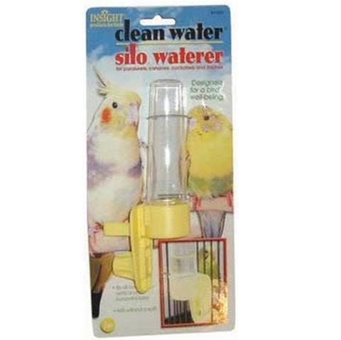 JW Clean Water Silo Waterer Bird Accessory, Regular