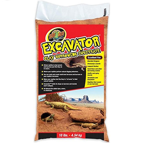 Zoo Med Excavator Clay Burrowing Substrate (10-Lbs.)