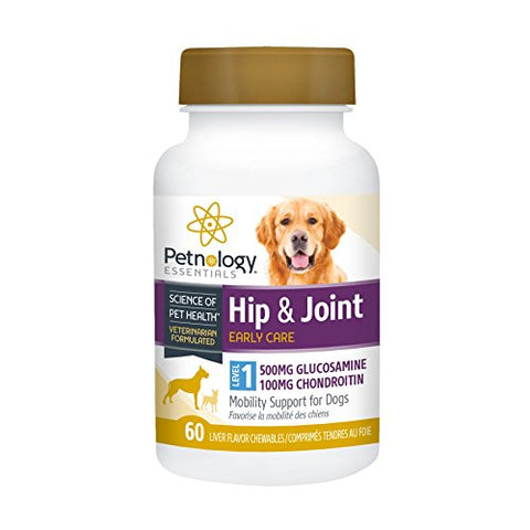 Petnology Essentials Hip and Joint Early Care Mobility Support