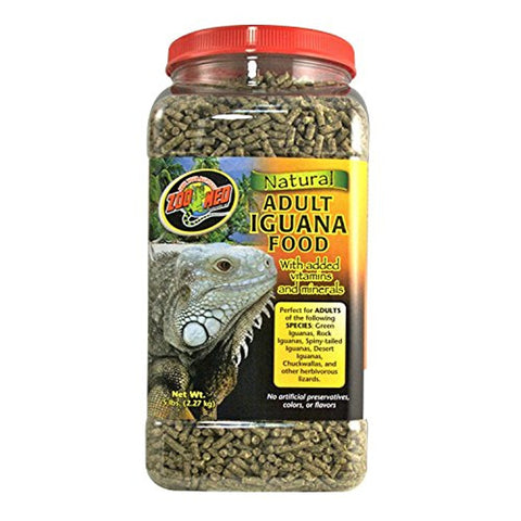 Zoo Med Natural Adult Iguana Food Formula (5-Lbs.)
