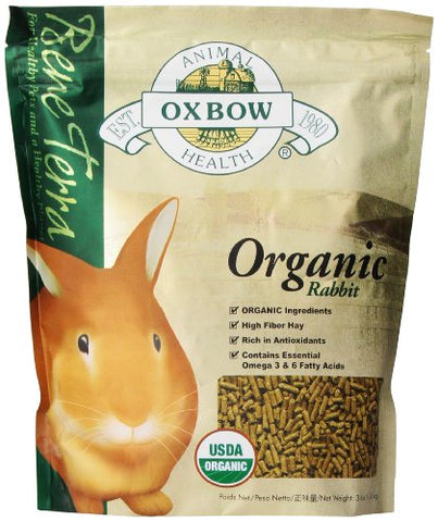 Oxbow Bene Terra Organic Rabbit Food (3-Lbs.)
