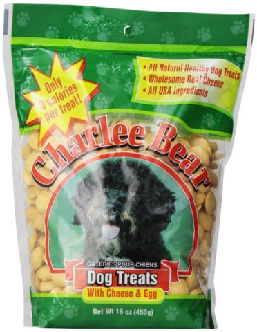 Charlee Bear Cheese/Egg Dog Treats, (16-Oz.)