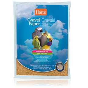 Hartz Universal Limestone Gravel Bird Cage Liner Paper (9 Sheets)