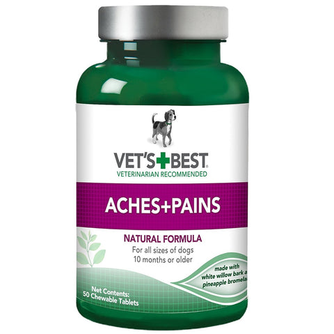 Vet's Best Aspirin Free Aches and Pains Dog Supplements, Natural Formula