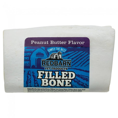 Redbarn Peanut Butter Filled Bone -3""