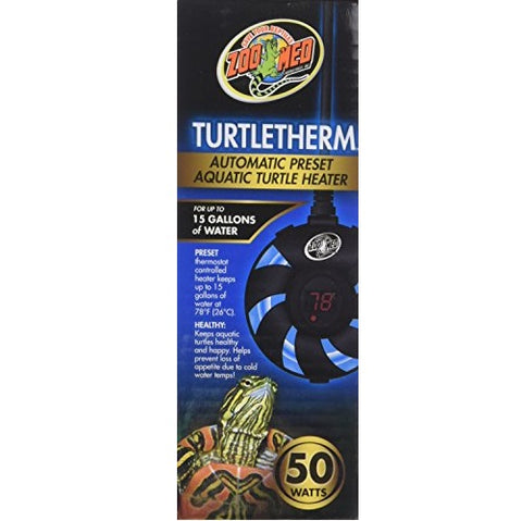 Zoo Med Turtletherm Aquatic Turtle Heater (50-Watt)