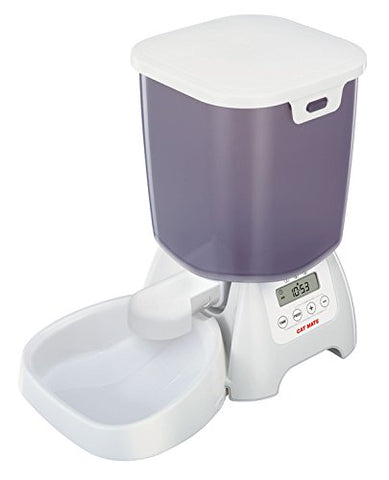 Cat Mate C3000 Automatic Dry Food Pet Feeder- 6.5 LB Capacity