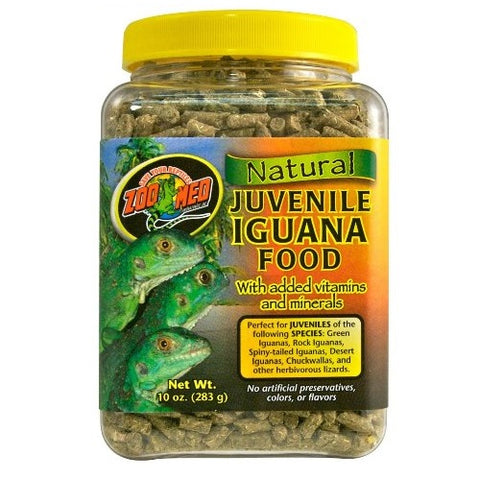 Zoo Med Iguana Juvenile Soft-Moist Pellets (10-Oz.)