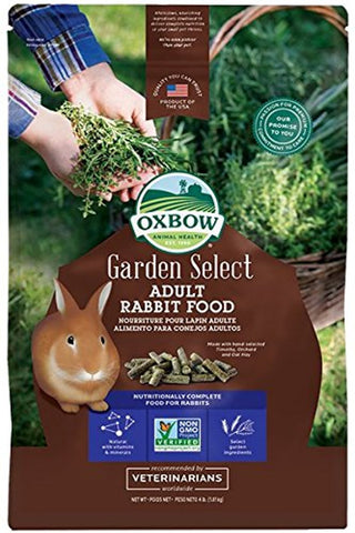 Oxbow Garden Select, Adult Rabbit Food (4-Lbs.)