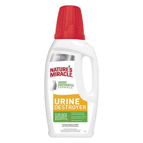 Nature's Miracle Just for Cat's Urine Destroyer (32-Oz.)