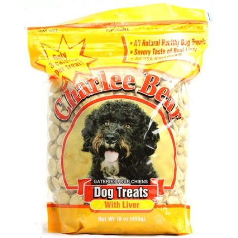 Charlee Bear Liver Flavored Dog Treats, (16-Oz.)