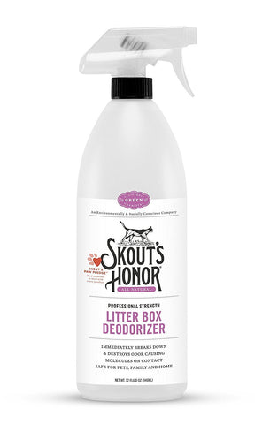 Skout's Honor Cat Litter Box Deodorizer (32-Oz.)