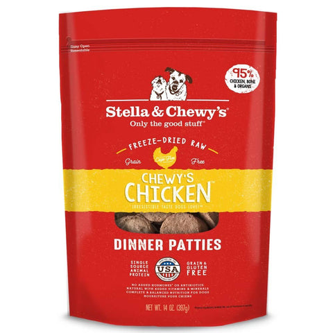 Stella & Chewy's Freeze-Dried Raw Chewy's Chicken Dinner Patties (14-Oz.)