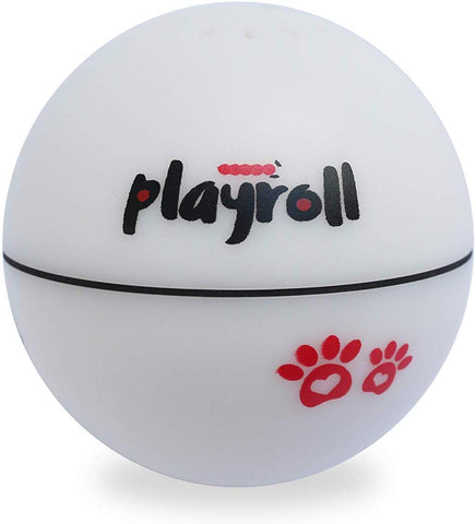 PlayRoll Spin Ball with LED Light and Catnip Compartment by Felix & Fido