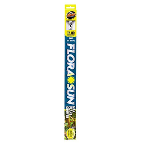 Zoo Med Flora Sun Plant Bulb T5 High Output 24 Watts, 22-Inch