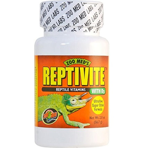 Zoo Med Reptivite, with Vitamin D3 (2-Oz.)