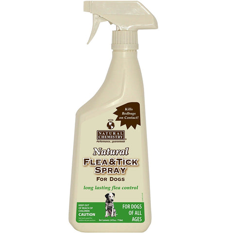 Natural Chemistry Flea and Tick Spray for Dogs (24-Oz.)
