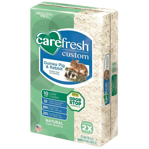 Carefresh Custom Rabbit/Guinea Pig Pet Bedding, 23-L, Blue