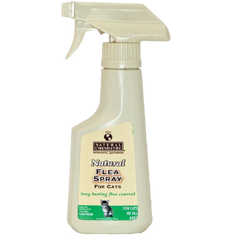 Natural Chemistry Natural Flea Spray for Cats (8-Oz.)