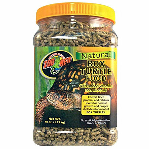 Zoo Med Natural Box Turtle Food (40-Oz.)