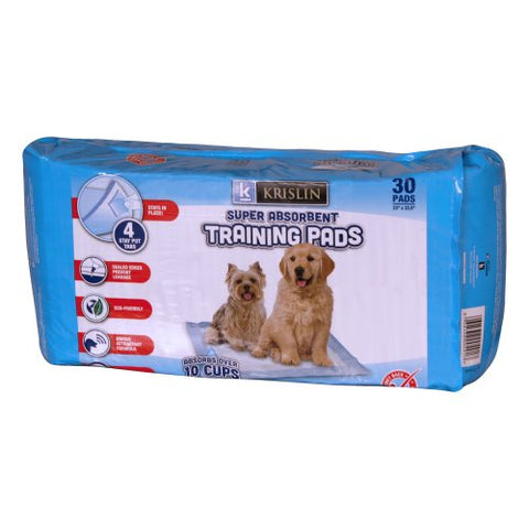 Krislin Super Absorbent Training Pads (30 Ct.)