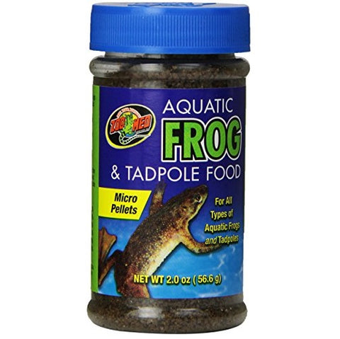 Zoo Med Aquatic Frog and Tadpole Food (2-Oz.)