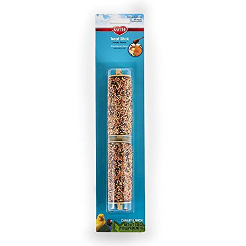 Kaytee Forti-Diet Pro Health Canary and Finch Honey Treat Stick (4-Oz.)