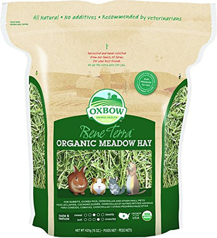 Oxbow BeneTerra Organic Meadow Hay (15-Oz.)