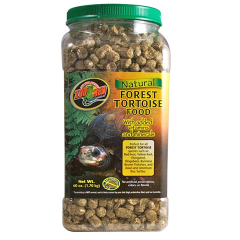 Zoo Med Natural Forest Tortoise Food (60-Oz.)