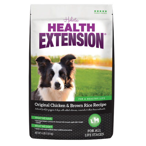 Health Extension Dog Food, Original Chicken & Brown Rice (4-Lbs.)