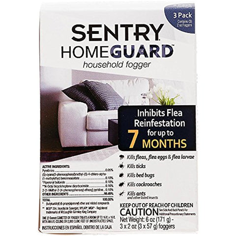 Sentry Homeguard Household Fogger (2-Oz, 3 Pack)