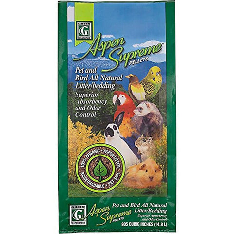 Kaytee Green Pet Aspen Supreme Pellets Pet and Bird Litter/Bedding