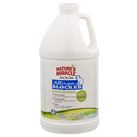 Nature's Miracle Nature'sCat Allergen Blocker Carpet Shampoo (64-Oz.)