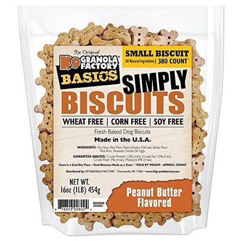 K9 Granola Factory Simply Biscuits with Peanut Butter (Small)
