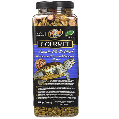 Zoo Med Gourmet Aquatic Turtle Food (11-Oz.)