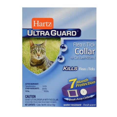 Hartz UltraGuard Flea & Tick Collar for Cats (Purple)