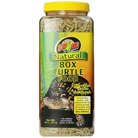 Zoo Med Natural Box Turtle Food (20-Oz.)