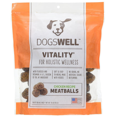 Dogswell Chicken Vitality Meatballs (15-Oz.)