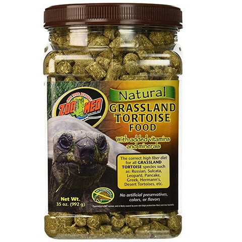 Zoo Med Natural Grassland Tortoise Food (35-Oz.)