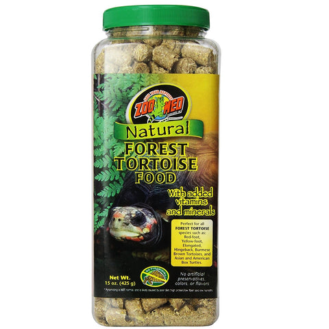 Zoo Med Natural Forest Tortoise Food (15-Oz.)