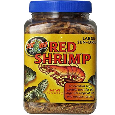 Zoo Med Sun Dried Large Red Shrimp (2.5-Oz.)