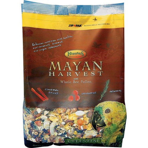 Higgins Mayan Harvest Celestial For All Parrots (3-Lbs.)