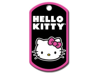 Customizable Hello Kitty Military Dog Tag (Large)