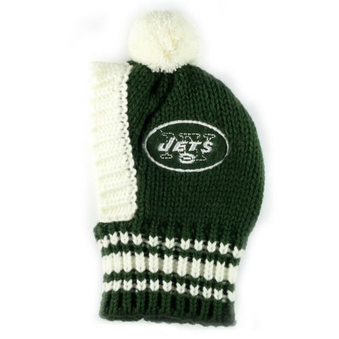 NFL Pet Knit Hat -Jets (Small)
