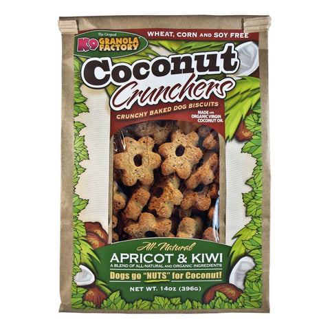 K9 Granola Factory Apricot and Kiwi Coconut Crunchers (14-Oz.)