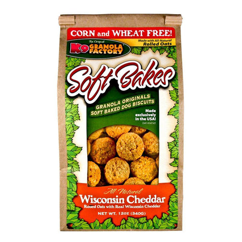 K9 Granola Factory Soft Bakes Wisconsin Cheddar (12-Oz.)