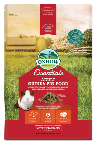 Oxbow Essentials Adult Guinea Pig (5, 10, 20 Lbs.)