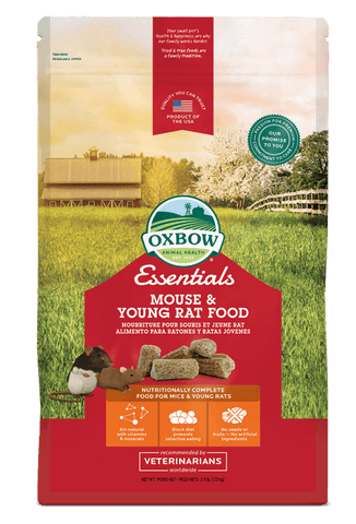 Oxbow Essentials Mouse and Young Rat (2.5-Lbs.)